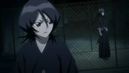Rukia approached by her Reigai counterpart