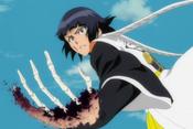 Soifon arm aging (anime)