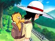 O8 Kon wychodzi z plecaka Rukii