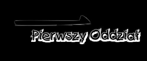 1. Oddział logo
