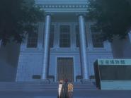 O66 Ichigo, Renji, Uryu i Kon zjawiają się przed muzeum