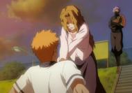 Ichigo duszony przez matkę