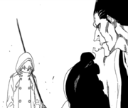 Kenpachi vs Gremmy 1