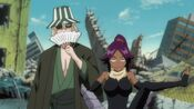Yoruichi-Shihoin-and-Kisuke-Urahara-bleach-anime-18015398-1280-720