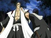 Ichinose y Kenpachi