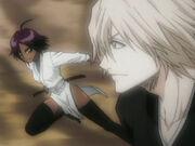Juventud de Kisuke y Yoruichi