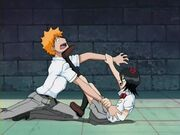 Kon acosando a Rukia
