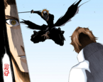 499px-Ichigo pounces on Aizen (Take 2)