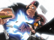 Ichigo menghajar Jidanbo