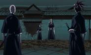 E318 Ikkaku Renji block Rukia Ichigo