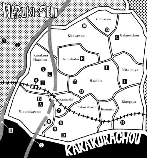 SOULSKarakura Town Map