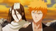 Byakuya zatrzymuje Ichigoo