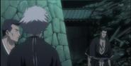 Iba appears before Isane