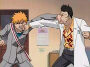 Ichigo e Isshin