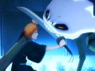 O10 Ichigo walczy z Demi-Hollowem