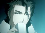 O145 Sosuke raczy się herbatą