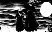 Primera aparicion de Renji y Byakuya