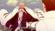 O294 Genryusai chwyta ramię Sosuke