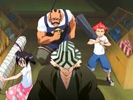 O7 Urahara, Tessai, Jinta i Ururu wyruszają po wadliwy towar