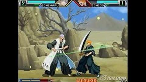 Bleach The Blade of Fate Nintendo DS Gameplay