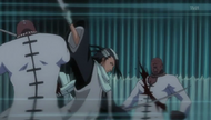 Byakuya vs. Gemelos Sonido