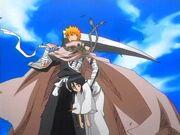 Ichigo salva a Rukia