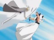 140Shinji and Grimmjow clash