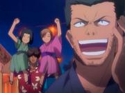 O20 Isshin, Karin, Yuzu i Sado na pokazie sztucznych ogni