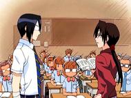 O15 Uryu tłumaczy się przed Misato