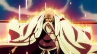 Yamamoto unleashes his reiatsu