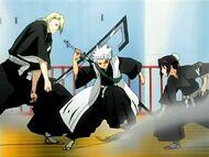 Izuru & Momo fight interrupted