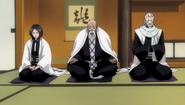 O206 Retsu, Yamamoto i Ginrei oczekują na kandydata na kapitana