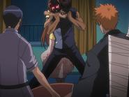 O65 Kurodo dusi Sado na oczach Ichigo i Uryu