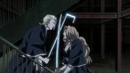 Rangiku and the Reigai clash