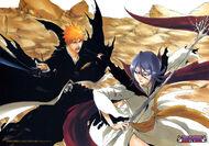 Dark Rukia fights Ichigo Kurosaki