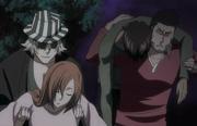 Urahara & Isshin menyelamatkan OriSado