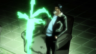 Kugo Puts His Sword Away
