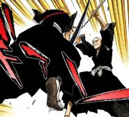 88Ichigo and Ikkaku clash