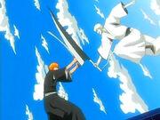 Ichigo lucha contra si mismo
