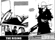 Bleach Chapter 444 Cover