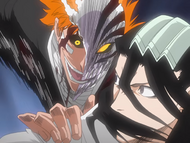Ep59HollowIchigoSurprisesByakuya