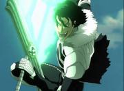 Kugo lanzando rafagas de energía