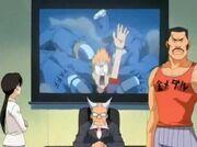 Maestros discutiendo la salida de Ichigo en TV
