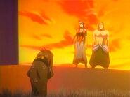 Rukia visita a los Shiba