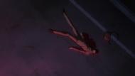 Ishida lying in a pool of blood