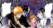 71Ichigo, Orihime, Sado, and Uryu run