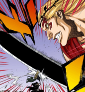 667Kenpachi and Gerard clash