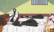 Kira e Hisagi en masajes