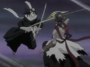 Byakuya & Koga Kuchiki Battle