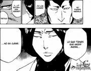 Tenjirō convence a Unohana